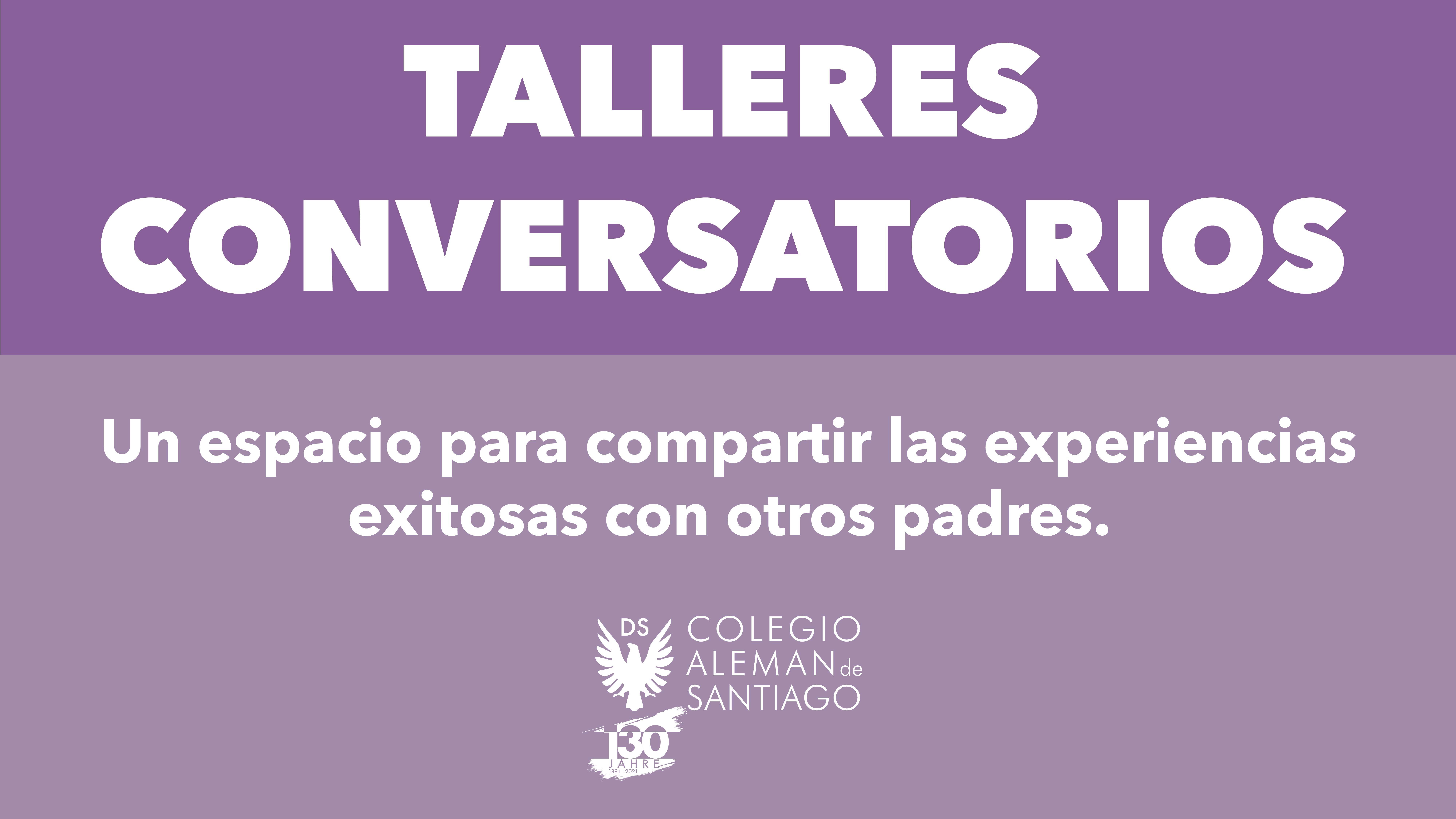 TALLERES CONVERSATORIOS