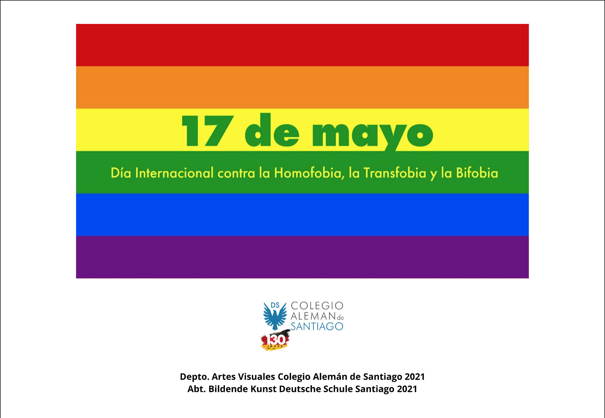 17. MAI: INTERNATIONALER TAG GEGEN HOMOPHOBIE